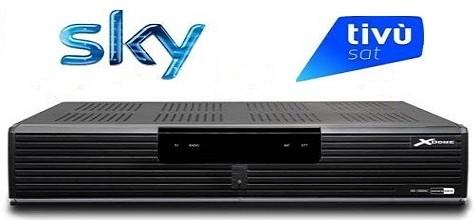 X-Dome Decoder Combo DVB-T – DVB-S