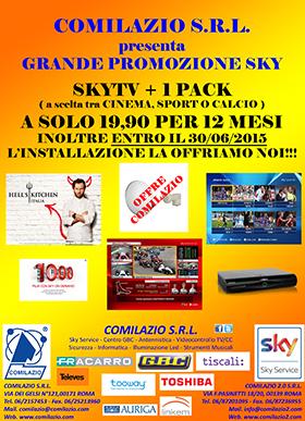 Promo INSTALLAZIONE GRATIS COMILAZIO SRL